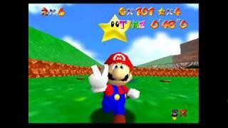 Super Mario 64 - Bob-omb Battlefield (6/7 Stars) - Episode 1 (Uncut)