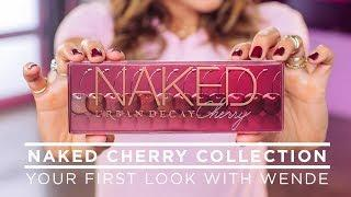 Wende Reveals the Naked Cherry Collection | NEW from Urban Decay