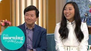 "Crazy Rich Asians Star Awkwafina Calls Ken Jeong ""Papafina"" 