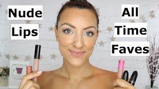 Favourite nude lipsticks