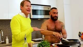 QUICKIES in collaboration with SCRUFF,  by THE BEAR-NAKED CHEF