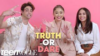 'To All the Boys I've Loved Before' Cast Plays Truth or Dare | Teen Vogue