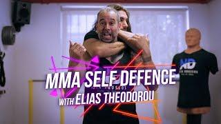How to escape a Rear Naked Choke w/ Pro UFC fighter Elias Theodorou