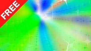 Rainbow Stars Fall - Green Screen Effects 2018 ► (MultiVerse Studio)