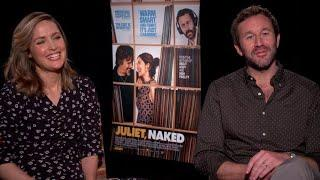"Rose Byrne and Chris O'Dowd on ""Juliet, Naked"" and the celebrity rumor mill"
