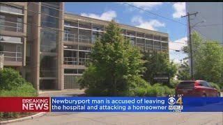 Naked Man Runs Away From Hospital And Attacks Man With A Hammer, Police Say