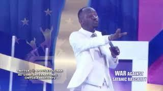 Tithe And Offering Wahala | Apostle Suleman Tells Members To Attāck Social Media