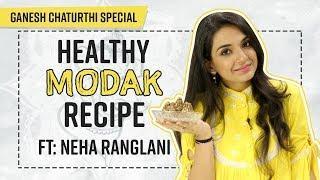 Healthy Modak Recipe Ft: Neha Ranglani | Ganesh Chaturthi Special | Pinkvilla