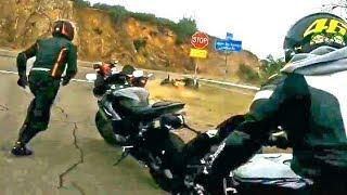 Motorcycle Crashes & Close Calls 2018 #32