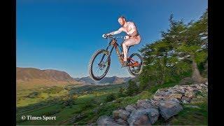 Pro MTB Rider Crashes... NAKED!!!!