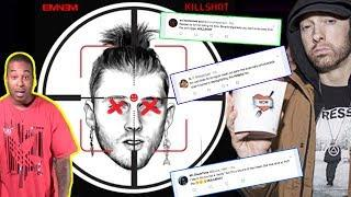 Eminem Killshot REACTION. Eminem ENDS Machine Gun Kelly's CAREER