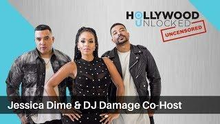 Jessica Dime & Dj Damage Discuss Hot Topics on Hollywood Unlocked [UNCENSORED]