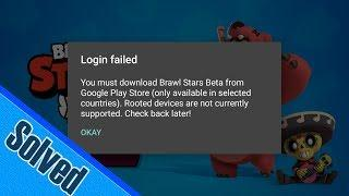 Brawl Stars Login Failed , Solved  ✅