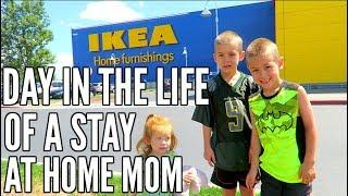 DAY IN THE LIFE OF A SAHM // SUMMER EDITION // DITL WITH 3 KIDS