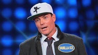 Vanilla Ice has the PERFECT answer! | Celebrity Family Feud