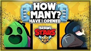 How Many Brawl Boxes Have I Opened With No Legendary? + Mega Brawl Box Opening! - Brawl Stars