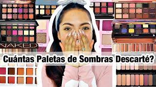 MAQUILLAJE: DEPURACION EXTREMA PALETAS DE SOMBRAS ALTA GAMA Y ECONOMICAS EP#3 ♥BeautybyNena