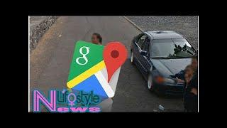 Google Maps users spot woman walking NAKED across road in daylight