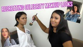 Recreating Celebrity Makeup Looks!