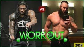 Roman Reigns vs Braun Strowman Training & Workout for Wrestling 2018 [HD]