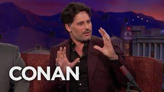 "Joe Manganiello Likes Watching People Suffer On ""Naked And Afraid""  - CONAN on TBS"