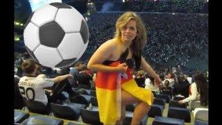 Sexy Football Fans-Russia FIFA World Cup 2018-Cheerleaders Compilation-Girl Wrapped In German Flag