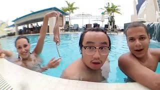Marie Gets Naked in Swimming Pool