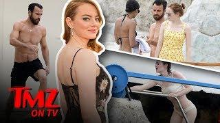 Emma Stone Joins Justin Theroux and Sienna Miller For A Dip | TMZ TV