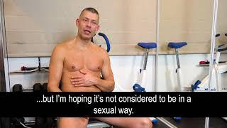 Getting an erection when training naked