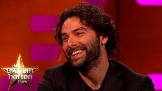 Aidan Turner LOVES This Sexy Poldark Knitwork | The Graham Norton Show