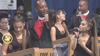 Ariana Grande TOUCHED inappropriately by the PASTOR at ARETHA FRANKLIN's Service(Pastor APOLOGIZES)