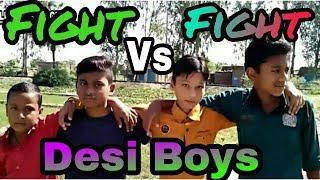 Fight Desi Boys // bast fight made by children