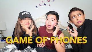GAME OF PHONES!! (TUMAWAG NG CELEBRITY FRIEND!!)