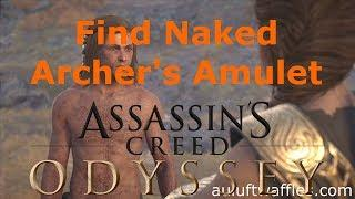 Explore the Cave and Acquire the naked Archer's Amulet Bare It All Messara Assassin's Creed Odyssey