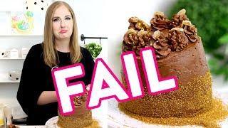 *BAKING FAIL* Making My Mom's Birthday Cake