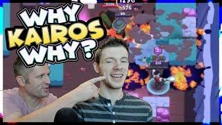THIS almost made us lose! Lex and Kairos in person | Brawl Stars | Lets play Epi 15