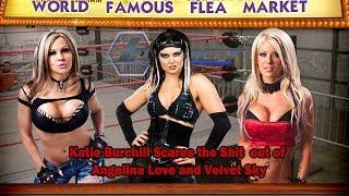 Katarina Waters gets all creepy with Velvet Sky and Angelina Love - WFFM