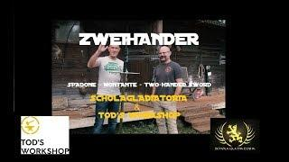 Zweihander (two-handed sword) recreation by Tod's Workshop