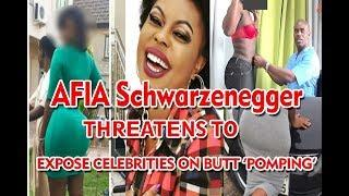 Afia-Schwarzenegger-Threatens-To-Expose-Celebrities- Who Visited Dr OBENFO