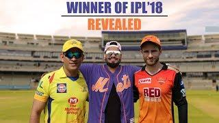 Winner of IPL'18 Revealed | Pinkvilla | Cricket | CSK vs SRH | MS Dhoni