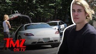 Justin Bieber's Car Breaks Down During Hamptons Date  | TMZ TV