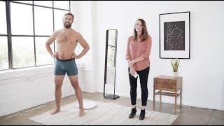 Naked Home Body Scanner – Live Demo Video
