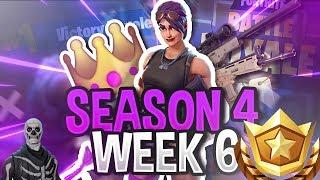 Fortnite | Season 4 Week 6 Challenges Leaked! + Battle Star Location