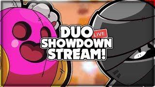 DUO SHOWDOWN LIVE STREAM! + Road To 11k Trophies! + Road To Purple Iron Man Challenge! - Brawl Stars