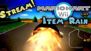 Mario Kart Wii... but Items fall from the sky! Part 2