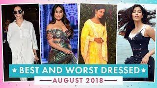 Deepika Padukone, Alia Bhatt, Aishwarya Rai: Best & Worst Dressed of August 2018 | Fashion