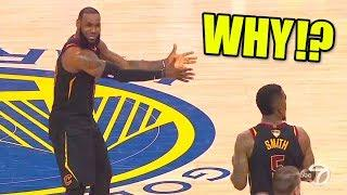 Top 5 Biggest NBA MISTAKES Ever! (LeBron James ANGRY, NBA Finals Fail)