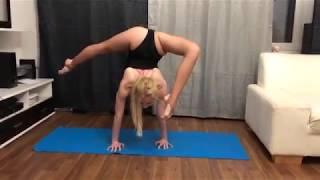 flexibility, girls gymnastic Yoga girl contortionist, Contortion