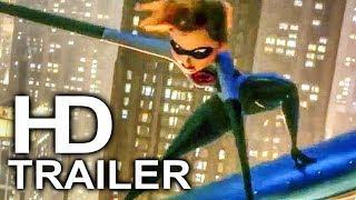 INCREDIBLES 2 Elastigirl Motorcycle Chase Scene Trailer NEW (2018) Superhero Movie HD