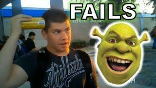 Random fail videos but someBODY ONCE TOLD ME (All Star)